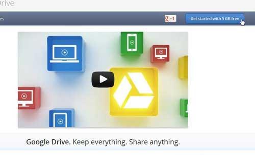Начало работы с Google Drive
