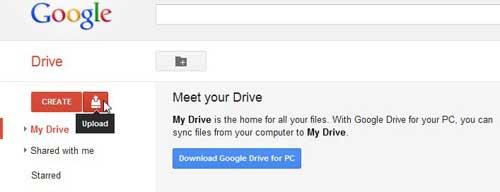 как получить доступ к своему облаку Google