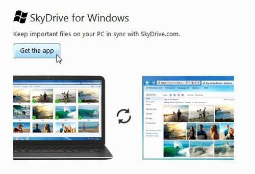 Как загрузить папки на Skydrive
