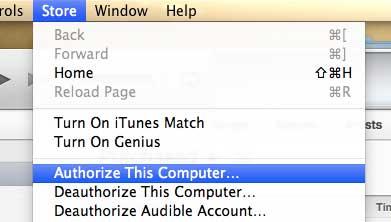 выберите опцию авторизовать этот компьютер