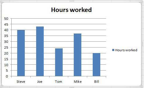 образец таблицы Excel