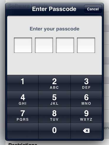 Введите старый пароль
