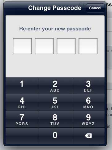 Подтвердите новый пароль
