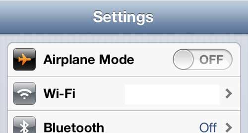 Нажмите кнопку Wi-Fi
