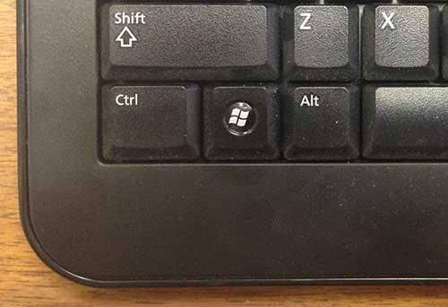 Этот ключ Windows не является хорошим вариантом для использования действия Command
