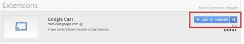 добавить Google Cast в Chrome