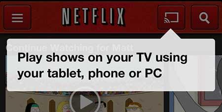 как смотреть netflix с chromecast с iphone 5