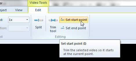 Как вырезать клип в Windows Live Movie Maker