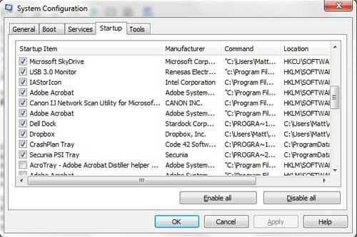 установить док Dell в качестве программы запуска
