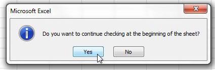 нажмите кнопку да