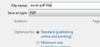 введите имя для файла PDF