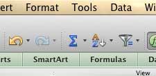 нажмите инструменты в верхней части экрана