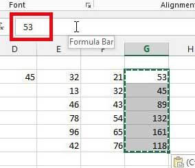 значения формулы ячейки, преобразованные в числовые значения