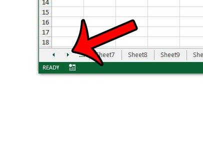 найдите элементы управления Excel 2013
