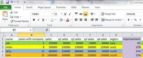 как вы заполняете ячейку цветом в Excel