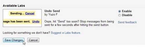 как вспомнить письмо в gmail
