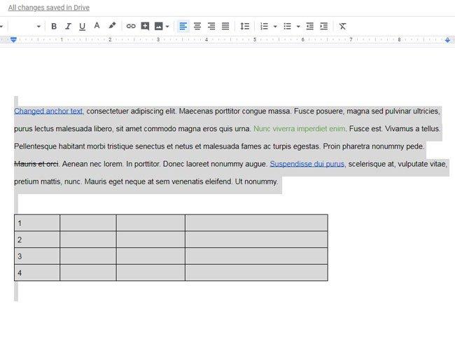 выделите весь документ с помощью Ctrl + A