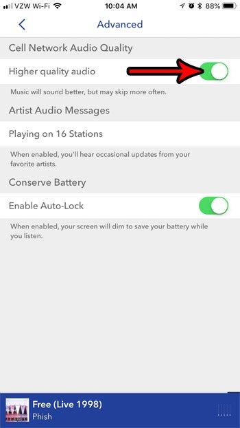 получить более качественный звук в Пандоре на iphone