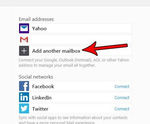Как добавить учетную запись электронной почты Yahoo Mail
