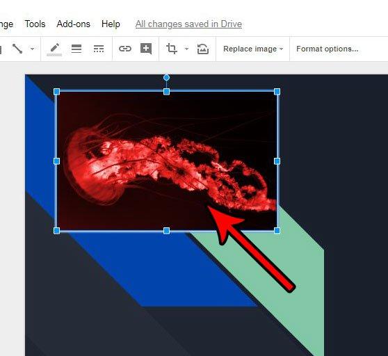Могу ли я добавить альтернативный текст к изображению в слайдах Google