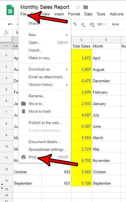 временная метка листов google при печати