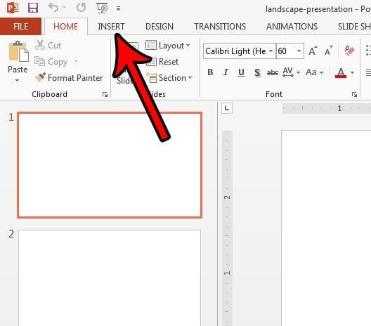 как добавить нижний колонтитул powerpoint 2013