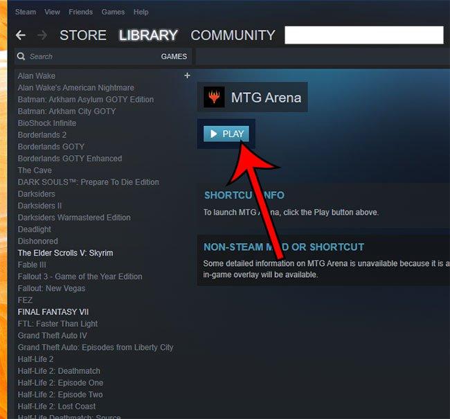 запустить не Steam игру от Steam