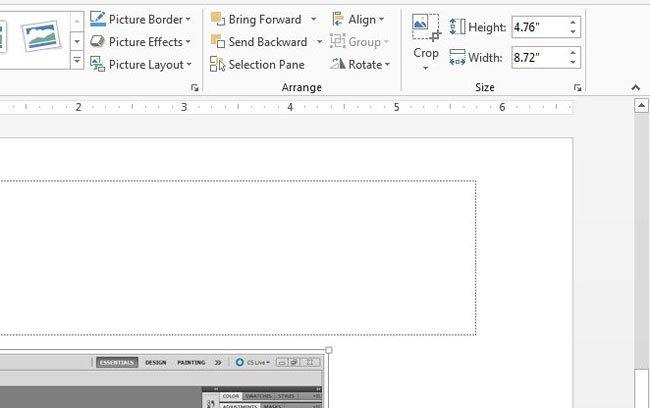 как редактировать скриншот в powerpoint