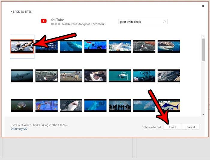 Как встроить YouTube видео в PowerPoint онлайн