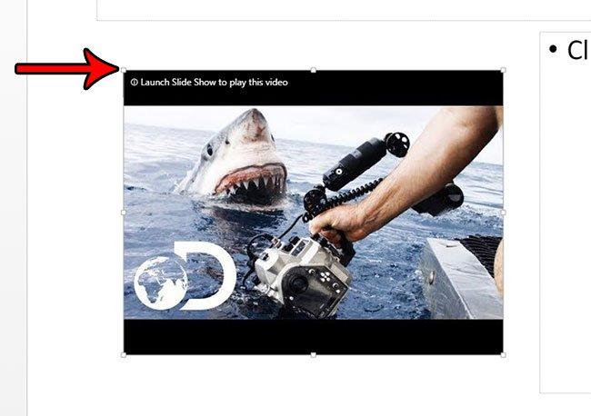 встроенное видео Powerpoint YouTube