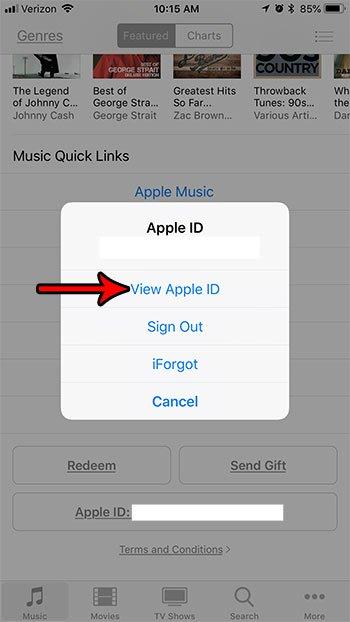 отменить подписки Apple ID iPhone 7