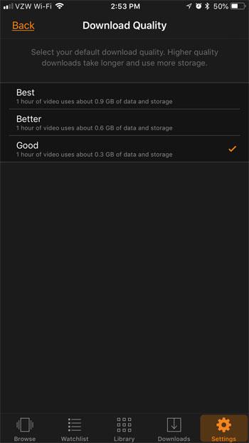 как изменить качество загрузки премьер видео iphone