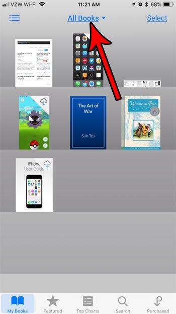 как организовать файлы ibooks iphone