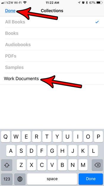 ibooks коллекции iphone