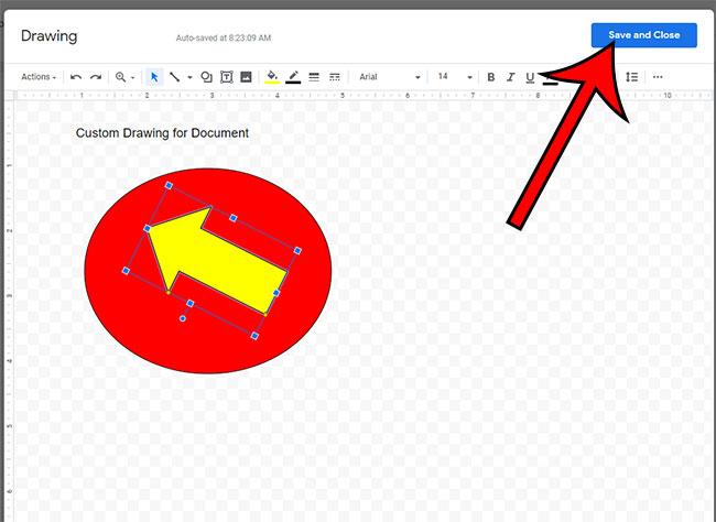 как создать рисунок в Google Docs