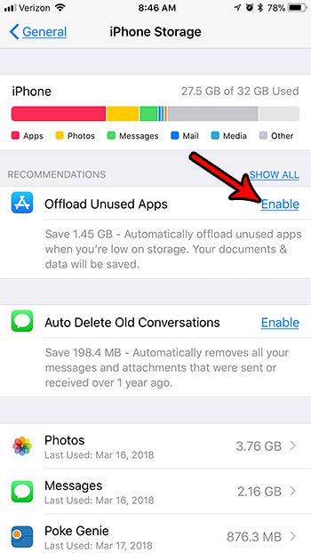 как автоматически удалять неиспользуемые приложения с iphone