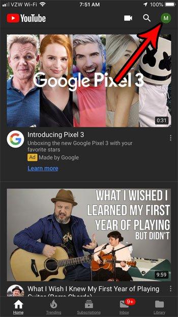 прекратить автоматическое воспроизведение видео YouTube
