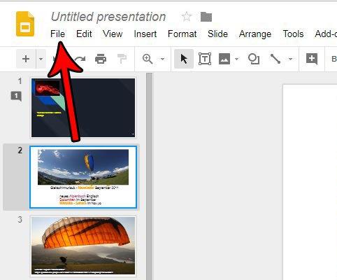 сохранить слайд Google как изображение