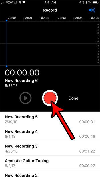как легко записать звук на iphone 7