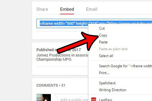как поставить YouTube в слайд-шоу
