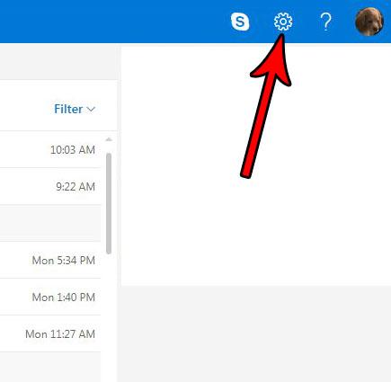 как изменить настройки Outlook