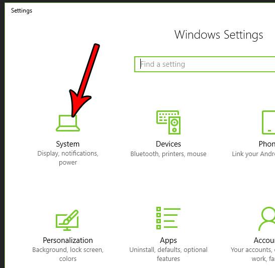 открыть системное меню windows 10