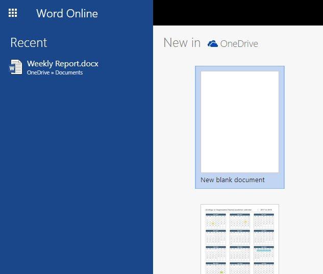 открыть файл в слове онлайн