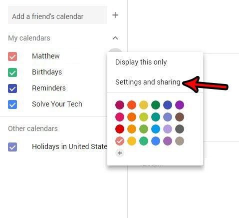 экспортировать гугл календарь