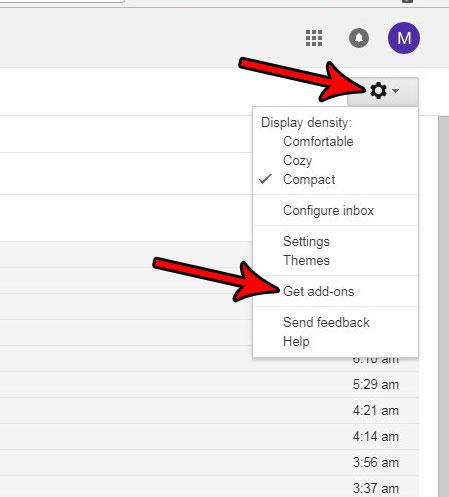 Как установить надстройку Gmail