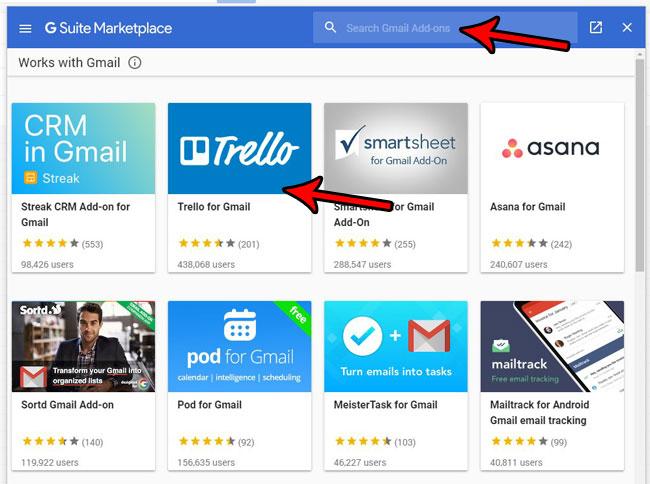как найти и установить приложения Gmail