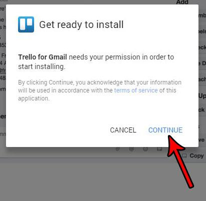 как установить надстройку в gmail