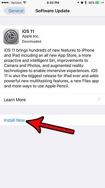 как установить ios 11 на iphone 7