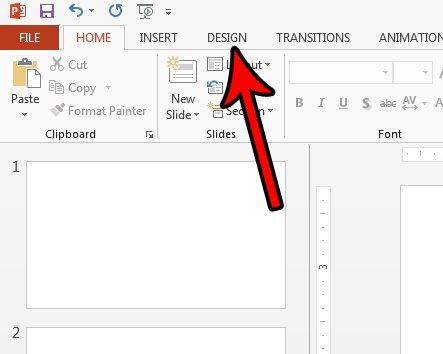 как сделать PowerPoint скользить вертикально