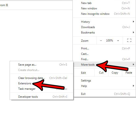 Как удалить расширение Google Chrome